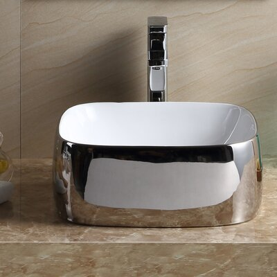 Modern Square Vessel Bathroom Sink