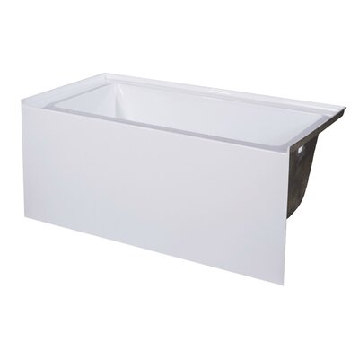 60 x 30 Soaking Bathtub Drain Location: Right