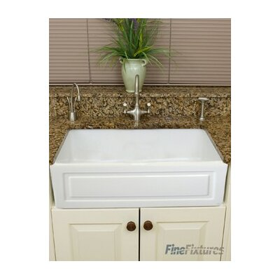 Fireclay 28.8 x 19.5 Farmhouse Kitchen Sink