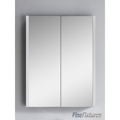 Vdara 24 x 31.5 Surface Mount Medicine Cabinet Finish: Dawn Gray