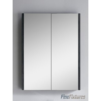 Vdara 24 x 31.5 Surface Mount Medicine Cabinet Finish: Black