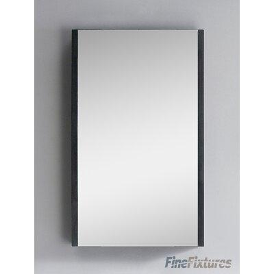 Vdara 19.5 x 31.5 Surface Mount Medicine Cabinet Finish: Black
