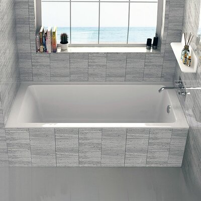 Alcove 30 x 60 Bathtub Drain Location: Right