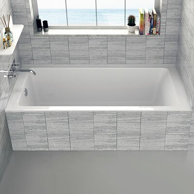 Alcove 30 x 60 Bathtub Drain Location: Left