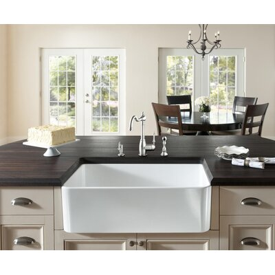 Fireclay 23.5 X 18.8 Butler Kitchen Sink