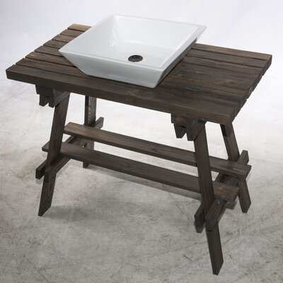 Leisure 35 Single Bathroom Vanity Set
