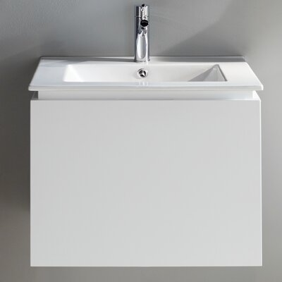 Lexington 24 Single Vanity Set Base Finish: White