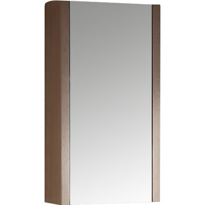 Modena 17.75 x 31.5 Surface Mount Flat Medicine Cabinet Finish: Gray Oak
