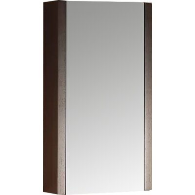 Modena 17.75 x 31.5 Surface Mount Flat Medicine Cabinet Finish: Wenge
