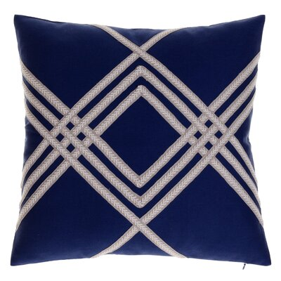 Alderley Throw Pillow Color: Indigo