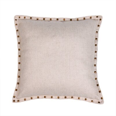 Herringbone Throw Pillow Color: Natural