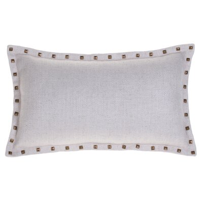 Diane Lumbar Pillow Color: Beige