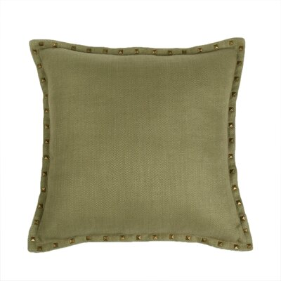 Herringbone Throw Pillow Color: Grass