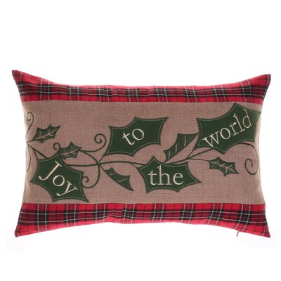 Holiday Holly Lumbar Pillow