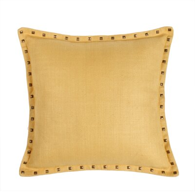 Herringbone Throw Pillow Color: Sunflower