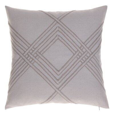 Alderley Throw Pillow Color: Natural