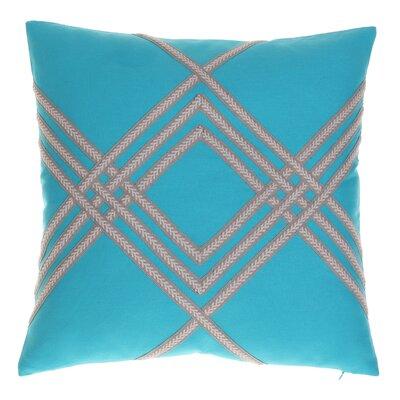Alderley Throw Pillow Color: Harbor
