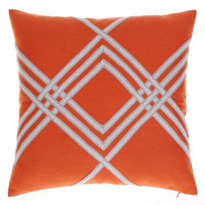 Alderley Throw Pillow Color: Spice
