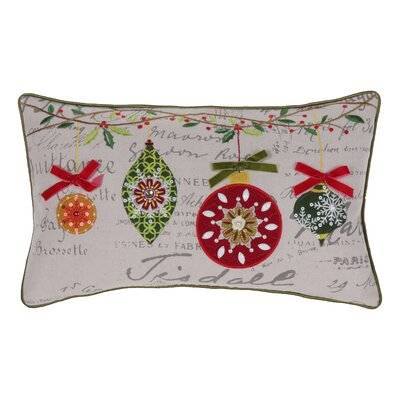 Broad Brook Mini Ornaments Throw Pillow