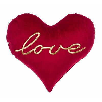 All You Need Is Love Heart Throw Pillow
