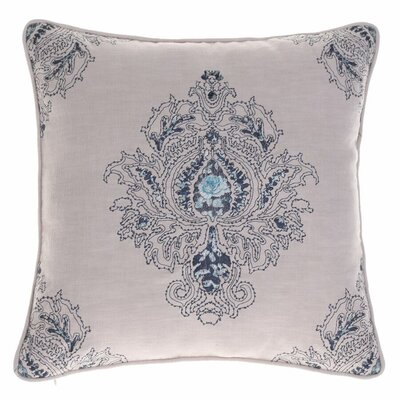 Allsop Royal Throw Pillow Color: Indigo/Harbor
