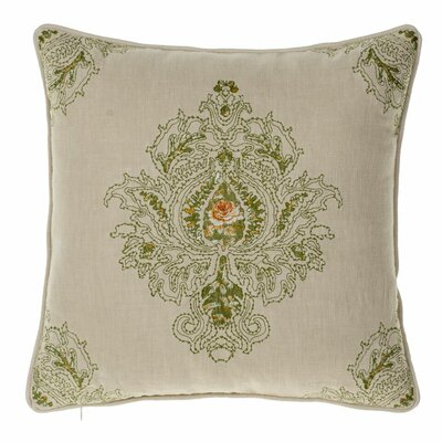 Allsop Royal Throw Pillow Color: Moss/Curry