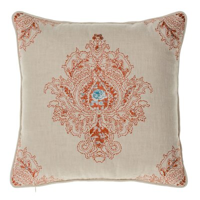 Royal Throw Pillow Color: Spice/Harbor