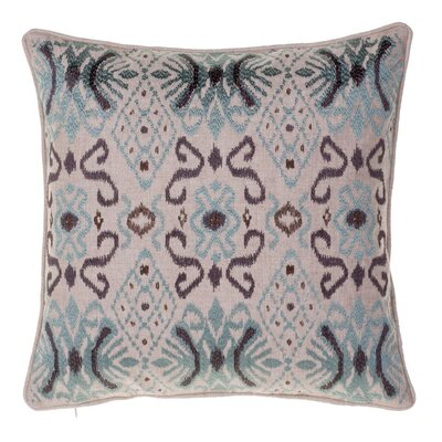 Glenside Ikat Throw Pillow Color: Harbor/Iron/Chestnut