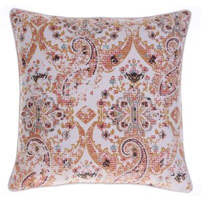 Savannah Throw Pillow Color: Curry/Harbor/Chestnut/Spice