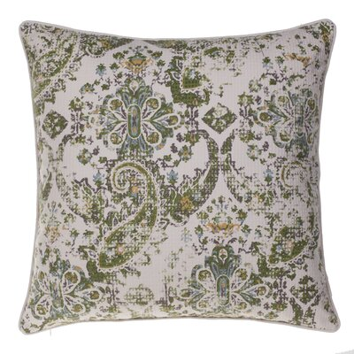 Savannah Throw Pillow Color: Curry/Harbor/Chestnut/Moss