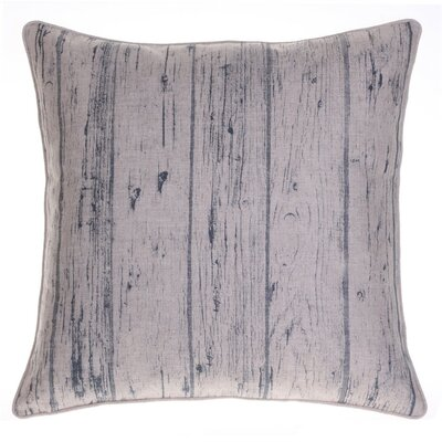 Planks Throw Pillow Color: Indigo
