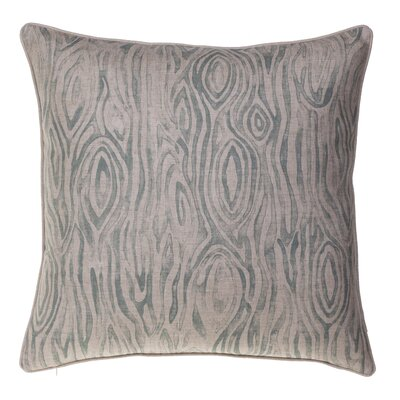 Woodgrain Throw Pillow Color: Harbor