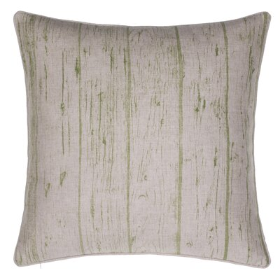 Planks Throw Pillow Color: Moss