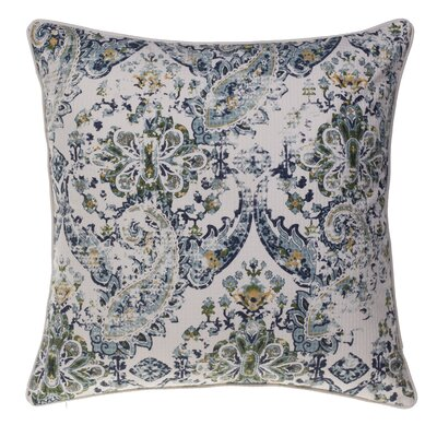Savannah Throw Pillow Color: Curry/Harbor/Moss/Indigo