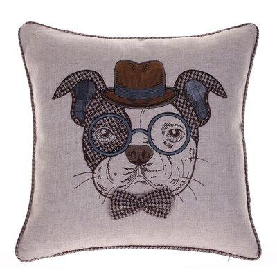 Distinguished Dog Pillow Oscar Sanders Throw Pillow