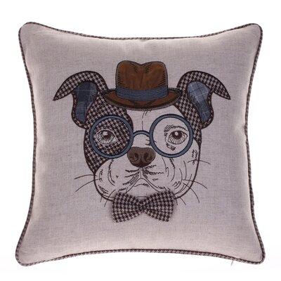 Distinguished Dog Pillow Oscar Sanders Throw Pillow