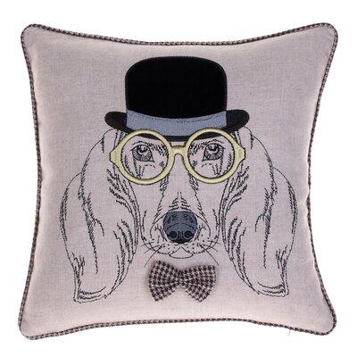Distinguished Dog Pillow Sherlock Harris Throw Pillow