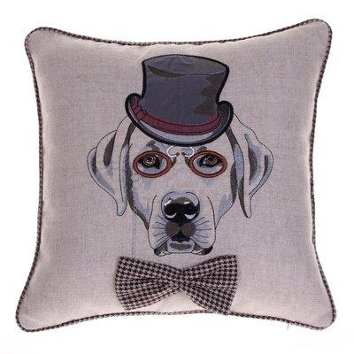 Distinguished Dog Pillow Walter Beckingdale Throw Pillow
