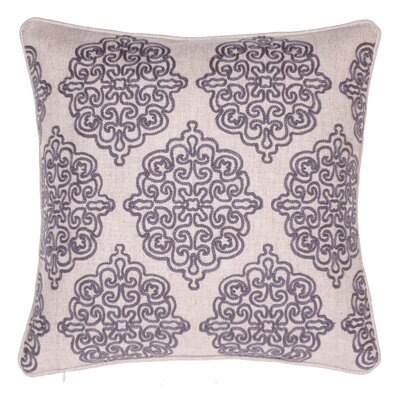 Charlotte Throw Pillow Color: Iron