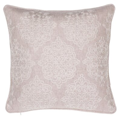 Dittmar Throw Pillow Color: Natural