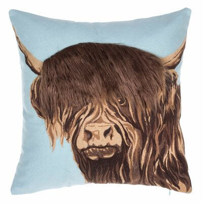 Himalayan Yak Cotton Throw Pillow