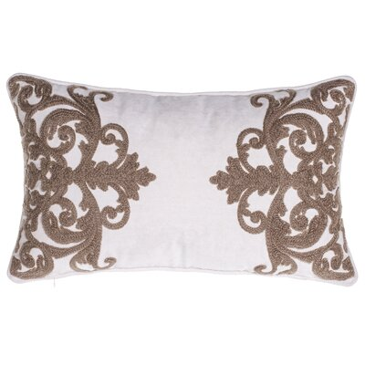 Versailles Crewel Stitch Lumbar Pillow