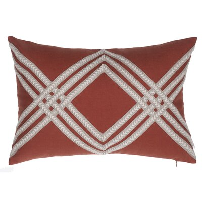 Rum Lumbar Pillow Color: Spice