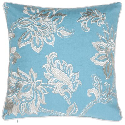 Solid French Throw Pillow Color: Harbor