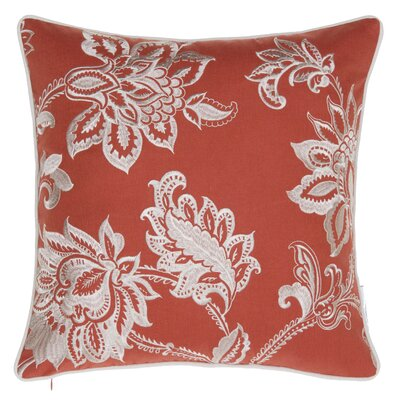 Solid French Throw Pillow Color: Spice
