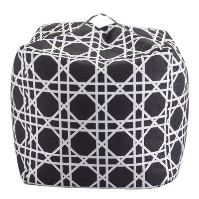 Bean Bag Chair Color: Black