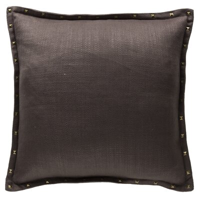 Herringbone Throw Pillow Color: Flint