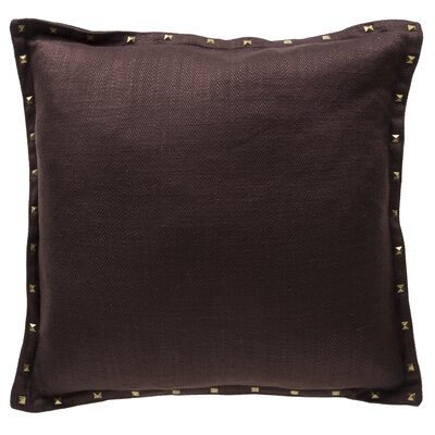 Diane Throw Pillow Color: Chestnut