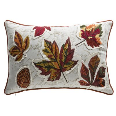 Fall Leaves Lumbar Pillow