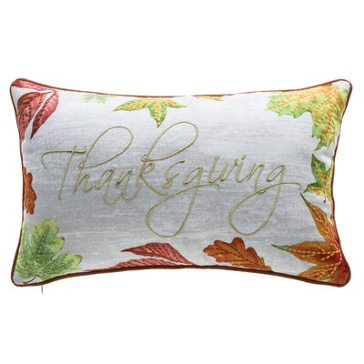 Thanksgiving Lumbar Pillow
